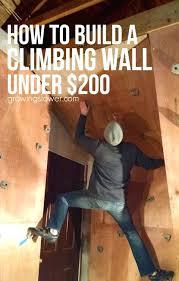 climbing walls kid toddler rock wall you diy home bedroom
