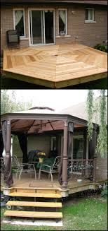 How to build an octagonal deck