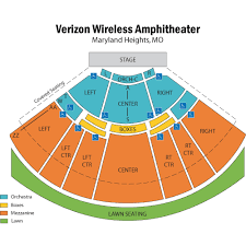 Verizon Amphitheatre Map Related Keywords Suggestions