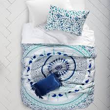 natalia blue white baroque bedding