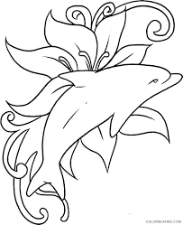 Also look at our large collection of animal coloring pages for. Dolphin Coloring Pages Free To Print Coloring4free Coloring4free Com