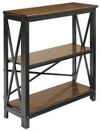 metal and wood bookcase shelves on wheels industrial bookshelf diy