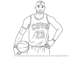 lebron shoes drawing. learn how to draw lebron james (celebrities) step by : drawing tutorials lebron shoes