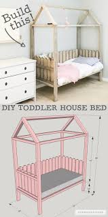 how to build a diy toddler house bed plans by jen woodhouse