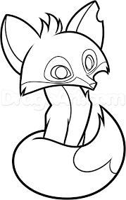 Animal Jam Foxes Drawings Get Coloring Pages