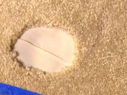 carpet joining tape. inserting the carpet tape joining