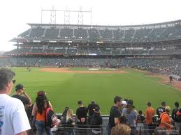 Oracle Park Section 137 San Francisco Giants