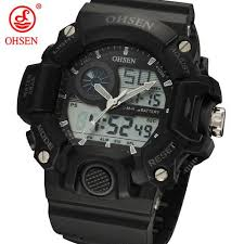 cheap watches for men digital sports watch ad2808 blue hot ohsen cheap watches for men digital sports watch ad2808 blue hot