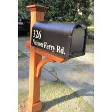 mailbox post. Image Result For Cedar Mailbox Post