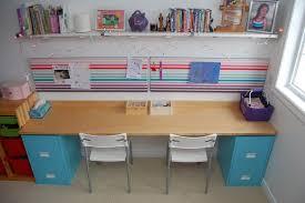 DIY filling cabinet desk