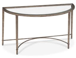 accent and occasional furniture copia sofa table glass and gold