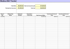 Free Bill Template Medical Bill Template Medical Bill Template Excel