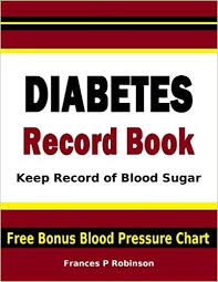 Chart To Record Blood Sugar Levels Diabetes Record Book Keep Record Of Blood Sugar In This