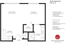 Small Apartment Floor Plans One Bedroom Large One Bedroom Floor Plans Bedroom Ideas