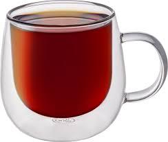 <b>Кружка</b> CnGlass стеклянная с <b>двойными стенками</b> для кофе и чая ...