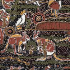 Australian Aboriginal Dreamtime Koala Kangaroo Quilt Fabric - Find ... & Australian Aboriginal Dreamtime Koala Kangaroo Quilt Fabric - Find a Fabric.  Available to purchase in Adamdwight.com
