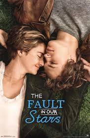 Romantic Movie Poster The Fault In Our Stars Romantic Tragedy Film Movie Poster 22x34 Inch