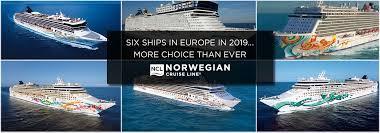 norwegian cruise line in europe 2019