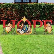 Hope Nativity Yard Lawn Art Outdoor Sets You\u0027ll Love | Wayfair