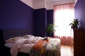 Schlafzimmer Blaue Wand Wohndesign
