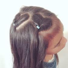 初心者でも簡単崩れにくいから夏のイベントにokハートヘアで夏を
