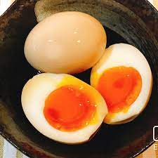 半熟 煮 卵