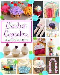 Crochet Cupcake Pattern Custom Fiber Flux Crochet Cupcakes48 Delicious Patterns