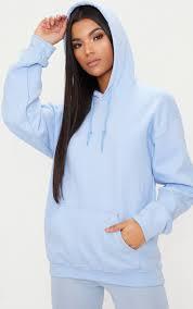 Light Grey Oversized Hoodie Light Blue Ultimate Oversized Hoodie In 2019 Hoodies