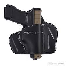 2019 the ultimate 3 slot owb leather belt holster fits s w shield glk springfield xd 1911 from dabmall 10 22 dhgate com