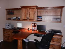 desk office design wooden office. Fair Home Office Design Ideas With Two Person Corner Desk : Splendid Using Black Wooden