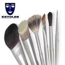 kryolan premium makeup brushes