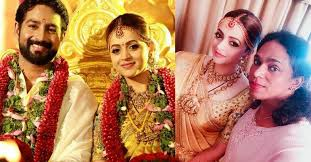 bhavana s wedding makeup was not planned in advance i wanted the eye and lipstick shade