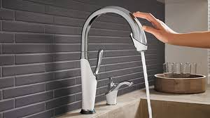 Touch kitchen faucets Bathroom Faucets Brizo Smarttouch Technology Innovations For The Kitchen Brizo