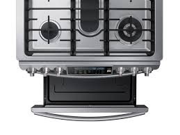 58 cu ft Slide In Gas Range with True Convection Ranges