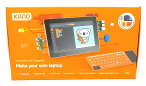 kano computer kit complete make your own laptop raspberry pi3 for
