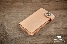 concho wallet tan brown black