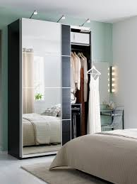 mirror wardrobe. mirrored wardrobe doors, like auli for pax, are clever small space multi-taskers mirror e