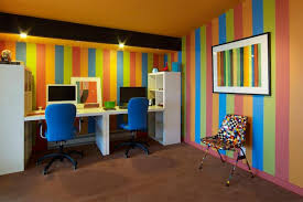 office room decor ideas. 2017Colorful Office Room Design Ideas : Color Rain For The Good Creative Home Decor