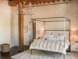 Canopy Bed with Moroccan Wedding Blanket - Transitional - Bedroom