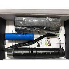 Mộc - đèn pin soi đá 3 màu có tia UV chuyên dụng cho soi đá kèm sạc + PIN  (cao cấp) - Đèn sạc