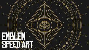 Graphic Design Timelapse Graphic Design Timelapse Emblem Four The Third Eye
