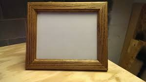 diy wood picture frame with glass new i used old frames without the