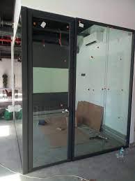Ofis Ayarlı Cam Kapı - Uğurlu Demontable