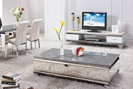 room marble table coffee design sets