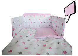 pink stars light pink more baby bedding