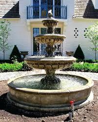 floor outdoor fountains. Floor Outdoor Fountains Tiered Fountain Modern . (