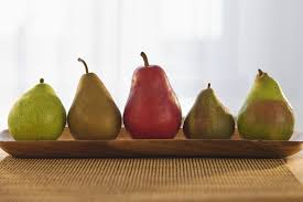 Pear Identification Chart Varieties Of Pears From Anjou To Williams