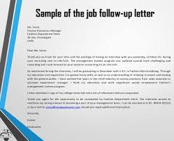 11 Sample Follow Up Letters Sample Letters Word
