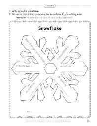 Blank Snowflake Template Snowflake Poem Template Word Book Free I Am Blank Shape Acrostic