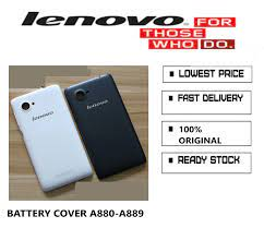 BATTERY BACK Cover LENOVO A880